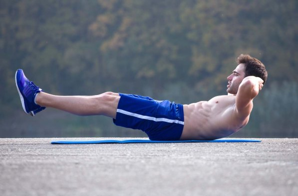 crunches outdoor